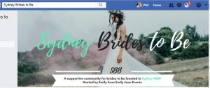A great FB discussion page for brides to be
