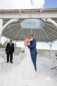 Happy couple at Mulgoa Valley Receptions